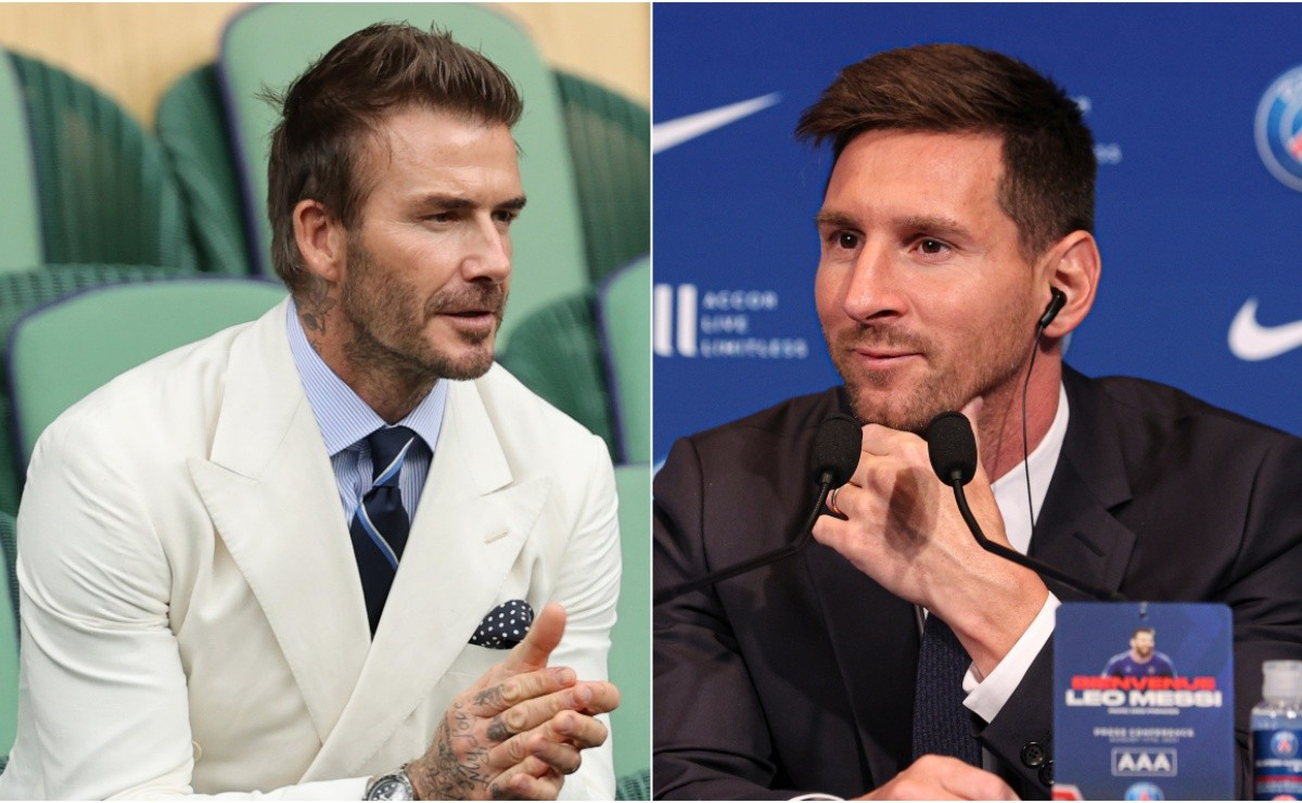 Lionel Messi received calls from David Beckham to play for