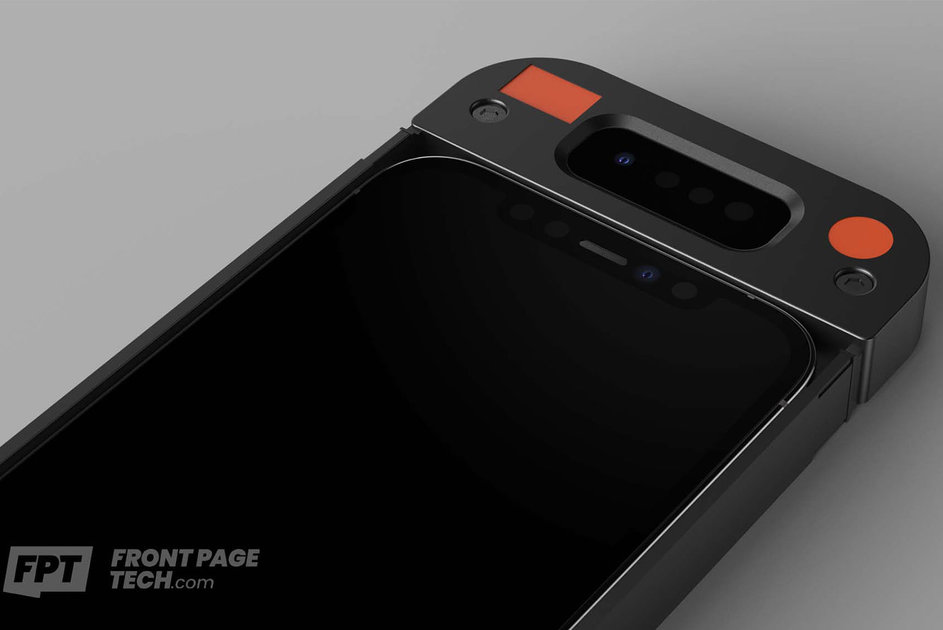 158141 phones news apple is secretly testing an external face id sensor that can read your face even under a mask image1 ehzvfasrbs