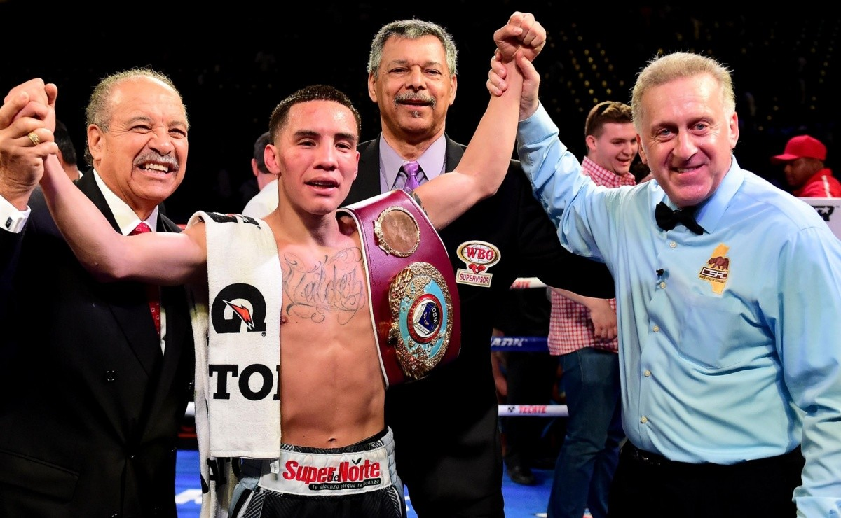 Oscar Valdez received an unusual sanction from the CMB