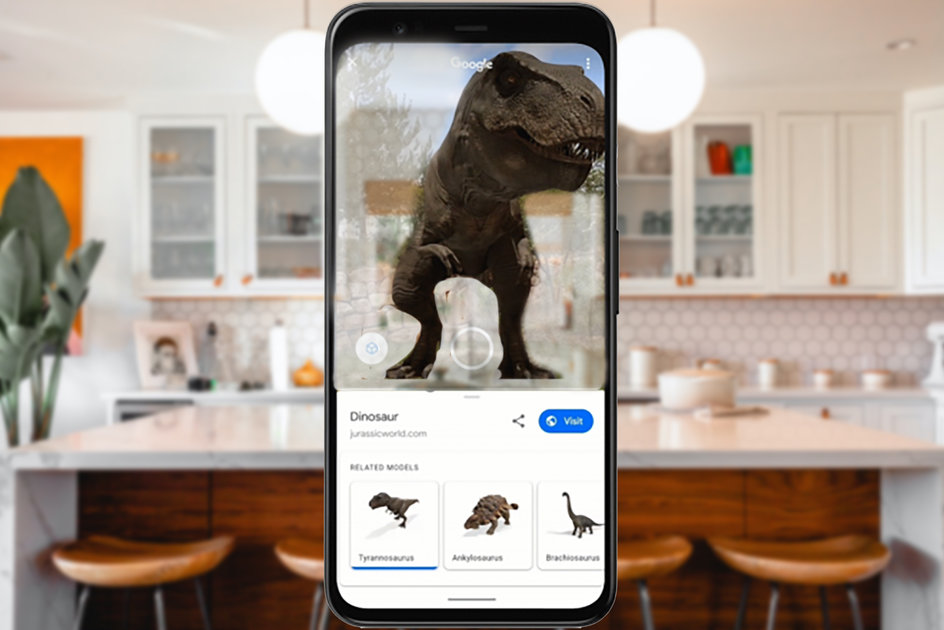 153167 apps news feature google 3d objects how to view dinosaurs in ar right in your kitchen image1 gbupyj4km6